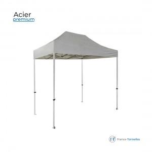 Tonnelle pliante en Acier Premium