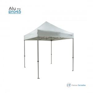 Tonnelle pliante aluminium blanche