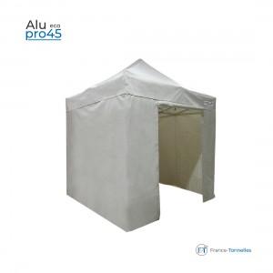 Tonnelle pliante aluminium blanche petit prix