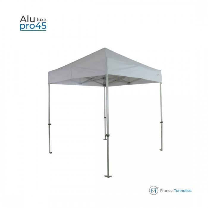 Tonnelle pliante aluminium 2,40x2,40m bâche polyester