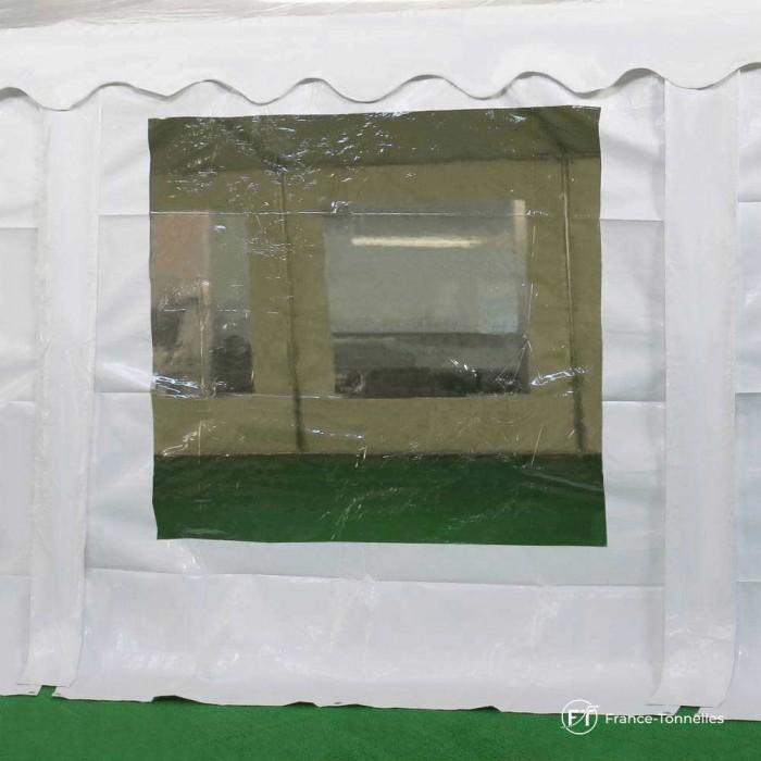 Bâche fenêtre vitrée