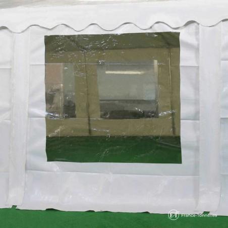 Bâche vitrée de tente de réception