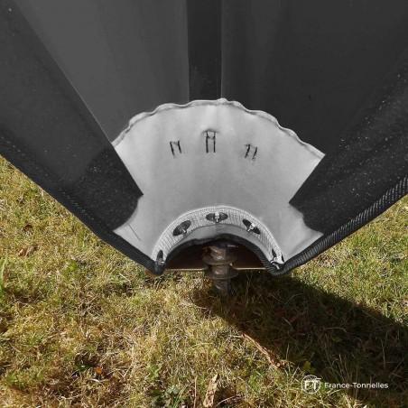 Sabot métallique de tente Etoile