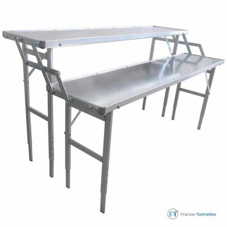 Table de marché 2 niveaux