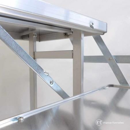 Table présentoir 2 niveaux