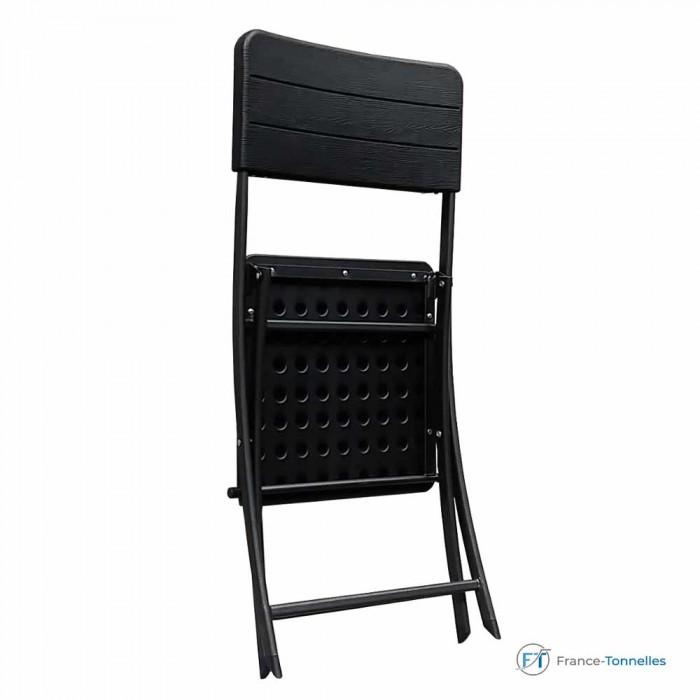 Chaise pliante pour repas