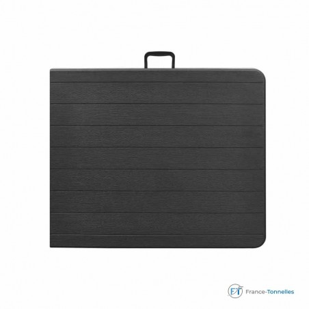 Table rectangulaire valise