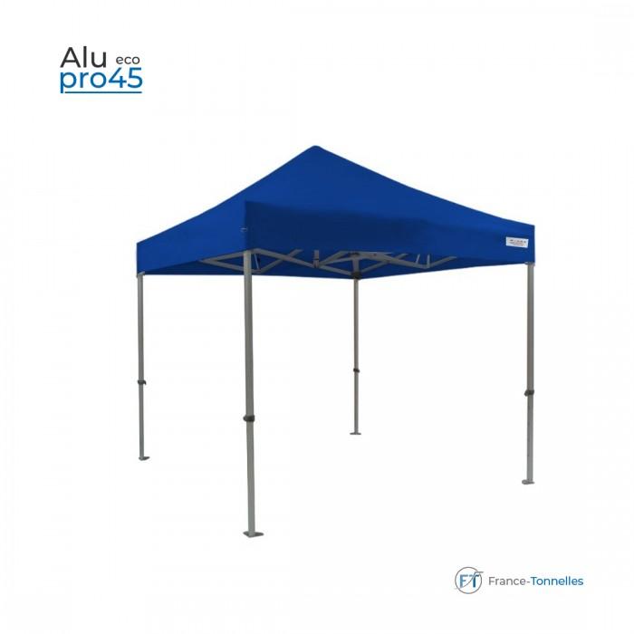 Tente pliante 3x4,5m Alu Pro 45- Anti-feu M2 - 380gr/m² - Blanc