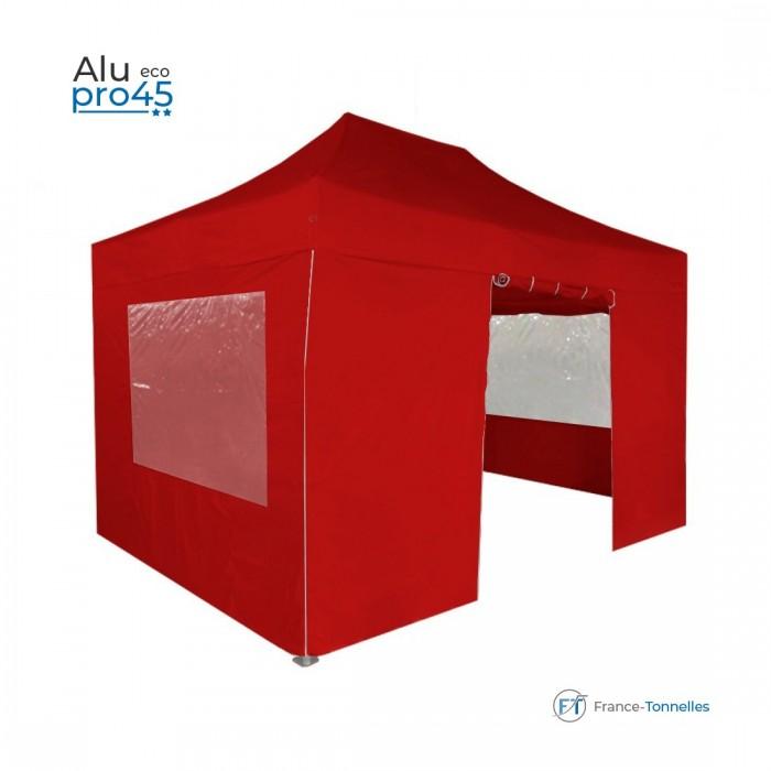 Abri pliant prix réduit avec structure aluminium 6m² bleu
