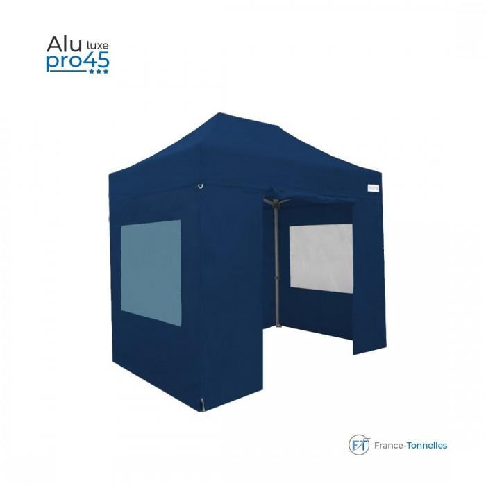 Tente pliante rouge bas prix avec structure aluminium 6m²