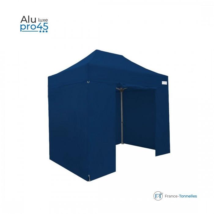 Tente pliante pas chère avec structure aluminium 9m² rouge