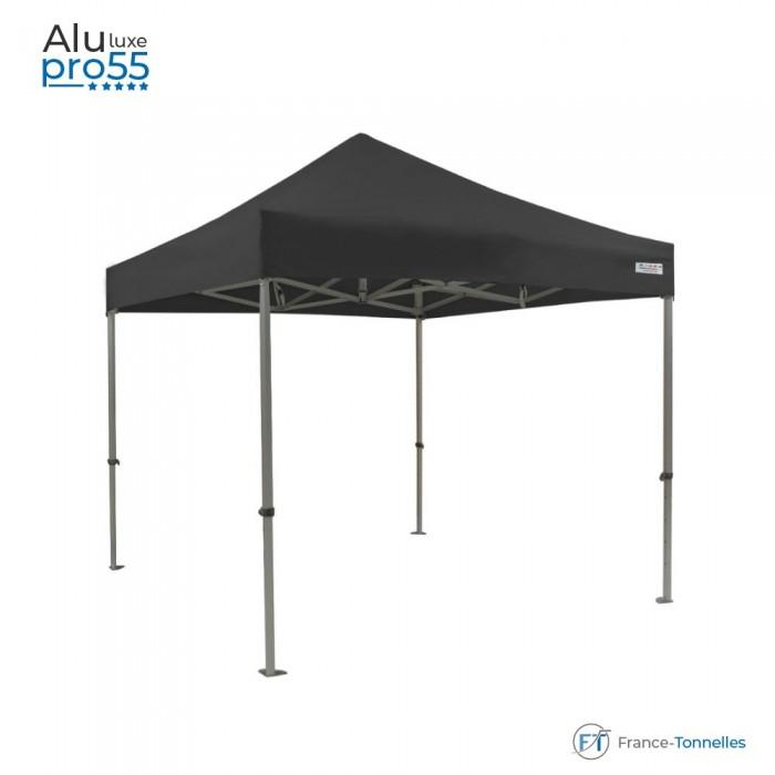 Tente pliante pas chère avec structure en acier 6m² bleue