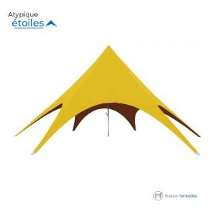 Tente Etoile jaune pour animations