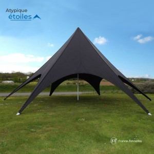 Tente Etoile noire pour animations