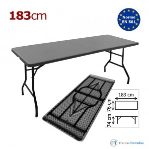 Table rectangulaire  183 cm