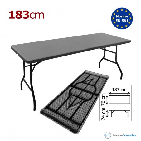 Table rectangulaire  183 cm